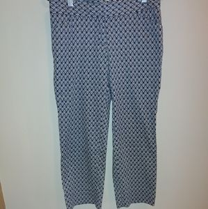 Laundry by Shelli Segal cropped cotton pant size 4